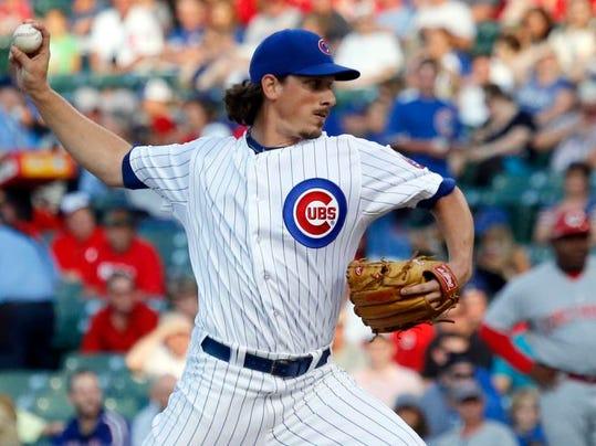 Athletics-Cubs Trade Baseball