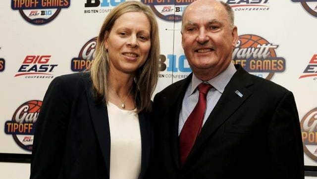 Big East commissioner Val Ackerman (left) and Big Ten commissioner Jim Delany need to get this right.