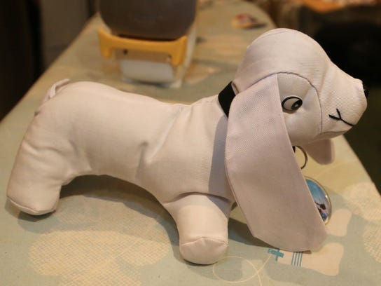 Stuffed dogs will be given to children with disabilities