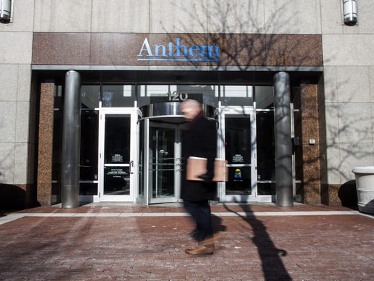 The Anthem Health Insurance headquarters is seen Feb.5