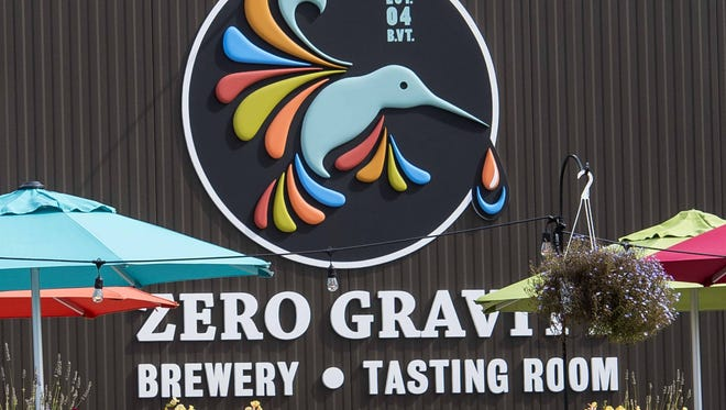 Zero Gravity Brewery and Tasting Room at 716 Pine Street in Burlington seen last summer.