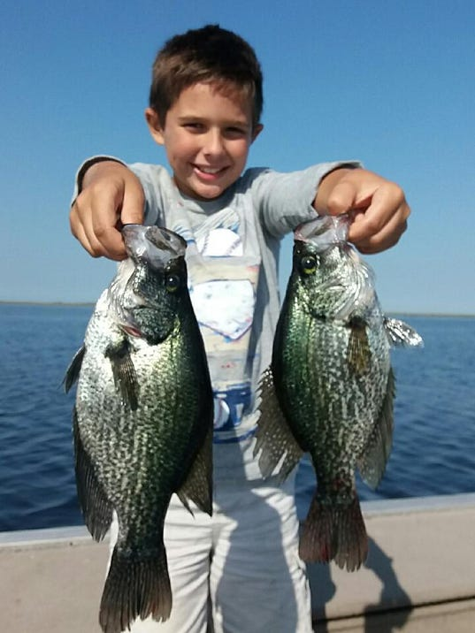 Treasure coast fishing report limit out on speckled perch for Treasure coast fishing report