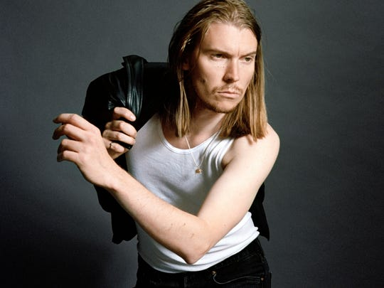 Alex Cameron performs Thursday at the Back Room at Colectivo Coffee.