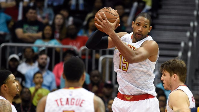 Al Horford scored 18 points on Sunday for the Hawks.