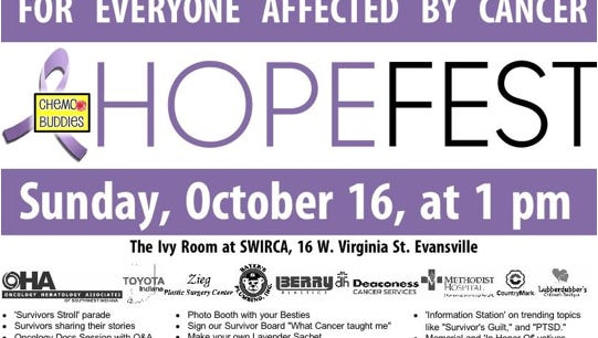 Hopefest is Sunday at SWIRCA and is open to everyone affected by cancer.