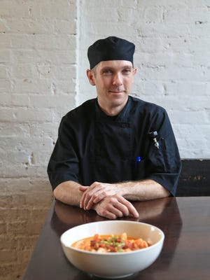Phil Robinson is the chef at Doc Crow's Southern Smokehouse and Raw Bar.