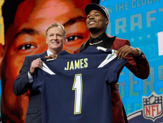 Roger Goodell, Derwin James