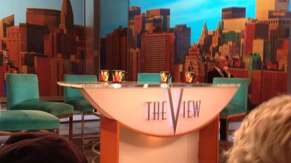The View desk