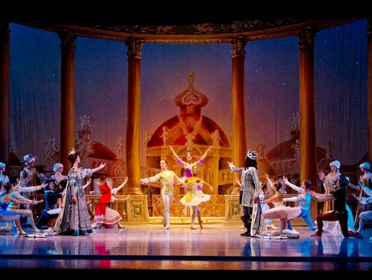 "Nashville Ballet's 2012 production of ""The Sleeping"