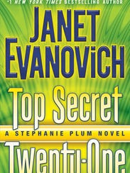 "The cover for ""Top Secret Twenty-One"" by Janet Evanovich."