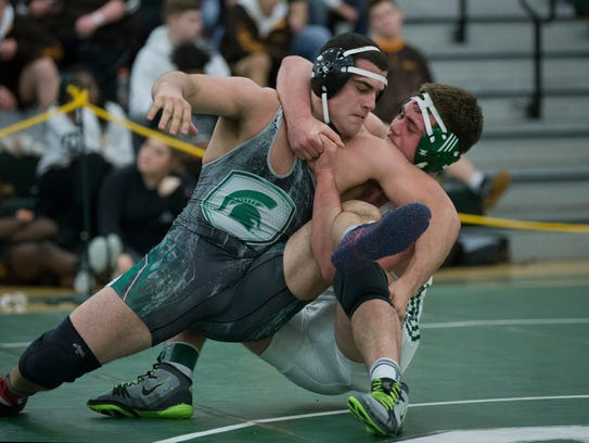 Long Branch's Peter Wersinger (right) defeated Hamilton