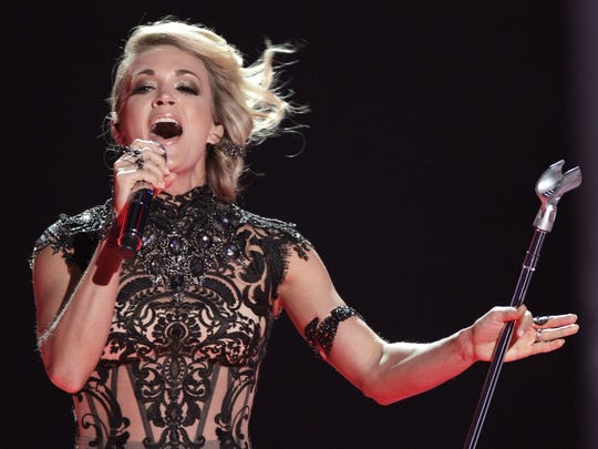 Carrie Underwood will perform Oct. 4 at Bankers Life