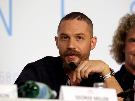 Tom Hardy in March 2015 in Cannes.