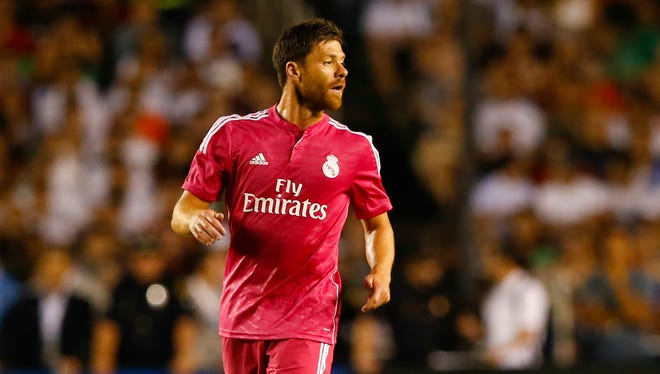 Xabi Alonso won the 2014 Champions League with Real Madrid.