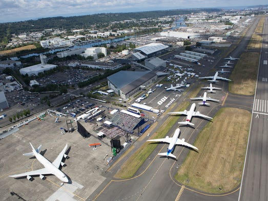 Boeing jetliners - ordered from the company's first