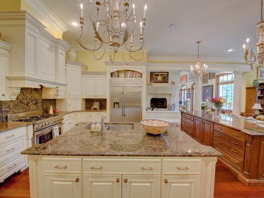 The superb kitchen  is a chef's dream.