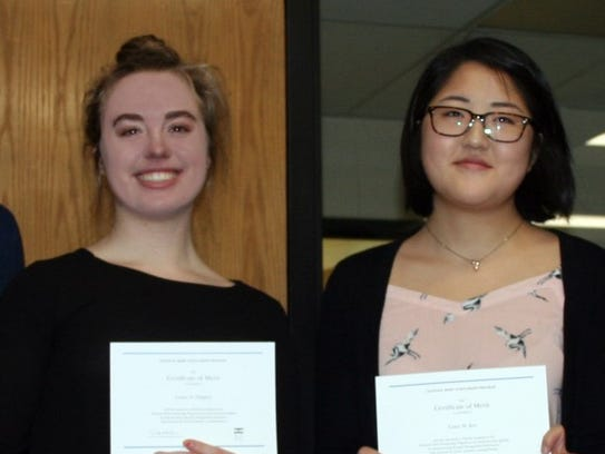 Laney Hughes and Liane Kee have been honored as National