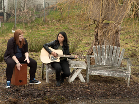 Indie folk Seattle duo The Alkis will play 8:30 p.m. Friday, April1, at Vagabond Brewing, 2145 Hyacinth St. NE.