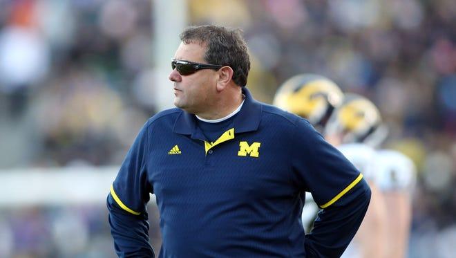 Michigan coach Brady Hoke.