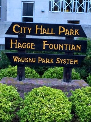 A photo of a misspelled Wausau Park System sign posted on the Facebook group, Wausau's Southeast Side, on Aug. 12, 2015.