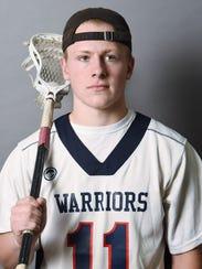 James Pratt of John Jay High School is the boys lacrosse
