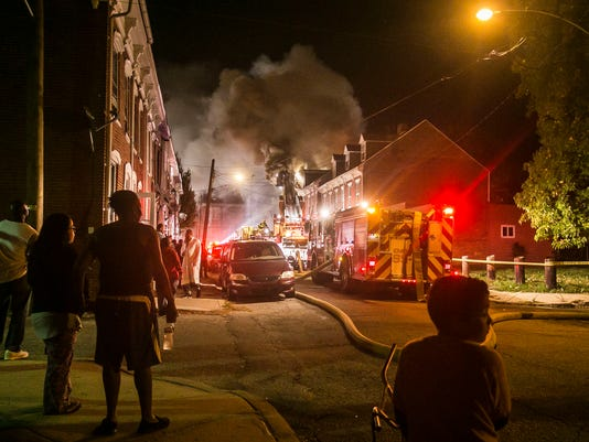 Maple St. Fire