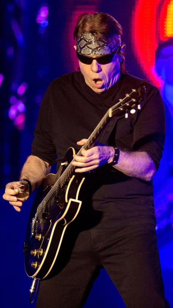 George Thorogood performs at the Keswick Theater in Glenside, Pa. on March 14, 2013.