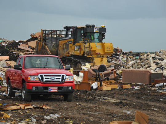 Brevard County's Sarno Road construction and demolition landfill in Melbourne is expected to run out of space by 2023.
