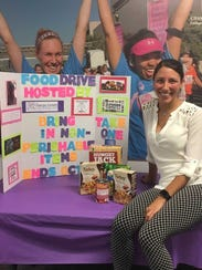 Heather Zayas and her Chamberlain College of Nursing