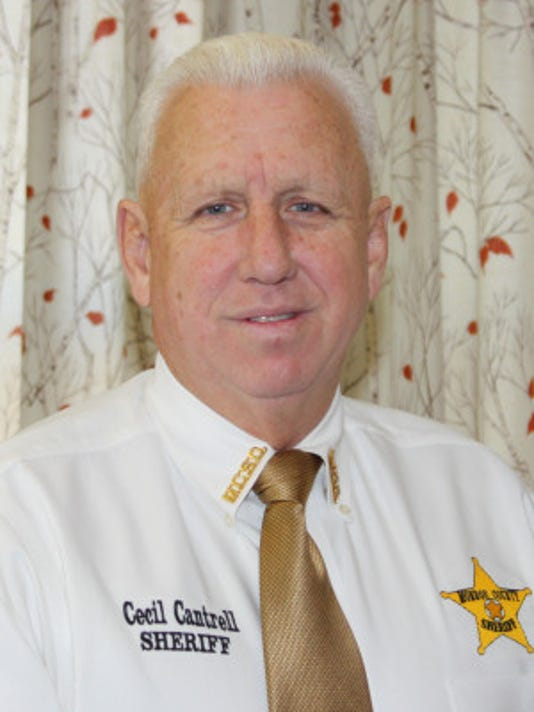 Monroe County Sheriff Cecil Cantrell.
