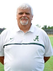 Acadiana head coach Ted Davidson has a career record