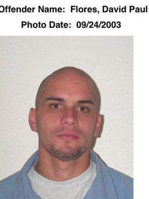 David Flores on Sept. 24, 2003.