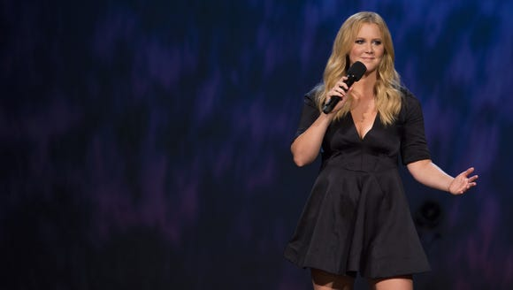 Amy Schumer performs during her HBO stand-up comedy