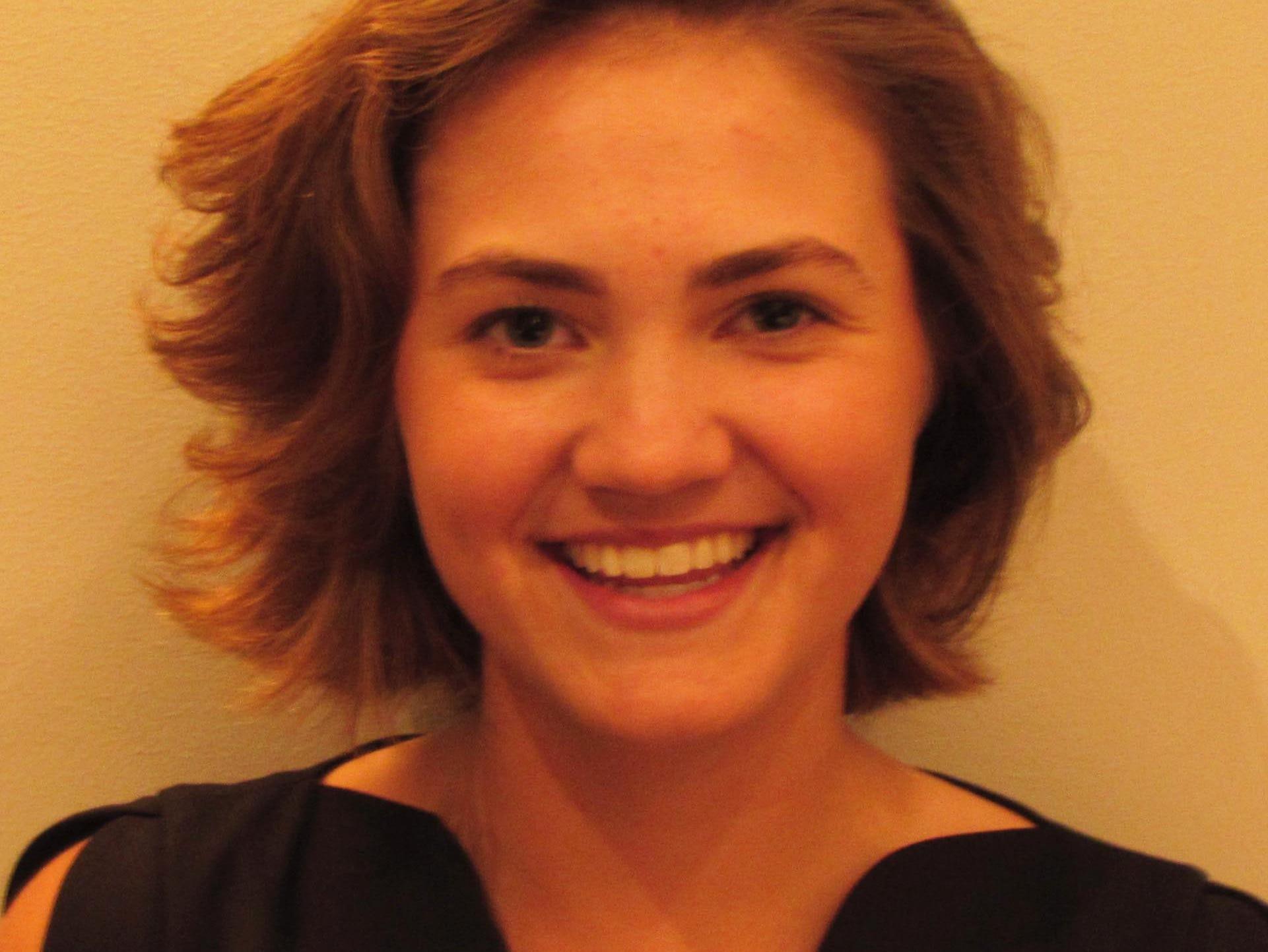 Bloomington South golfer Emma Fisher