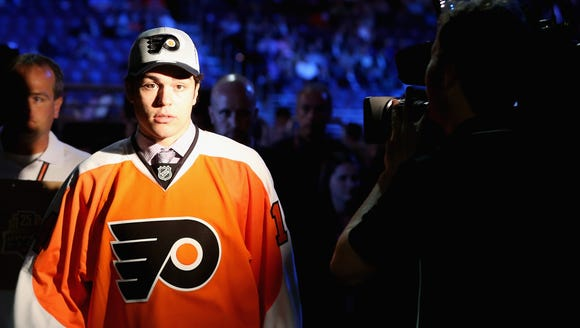 Mark Friedman, the Flyers' third-round pick in 2014,
