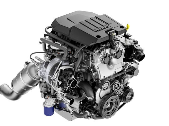 On the 2019 Chevrolet Silverado, a 2.7L Turbo with