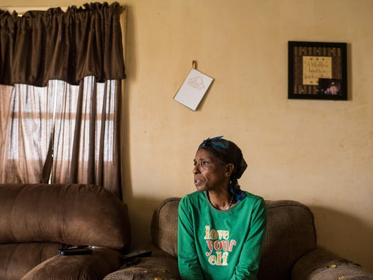 Barbara Noel, mother of Michael Noel, discusses her account of the Dec. 21, 2015 shooting death of her son by a St. Martin Parish Sheriff's deputy at her home in St. Martinville. A State Police report says Michael was killed during a struggle when he resisted deputies' efforts to take him into protective custody and drive him to a hospital.
