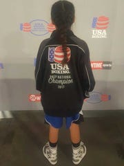 Ten-year-old Joscelyn Olayo-Muñoz captured her second