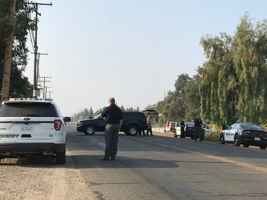 Visalia police are on scene of a fatal pedestrian collision.