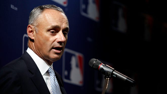 Rob Manfred, 55, handled negotiations along with then chief operating officer Bob DuPuy in the 2002 and 2006 agreements.