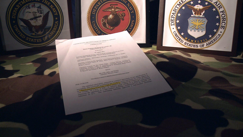 Federal or military sex offender register