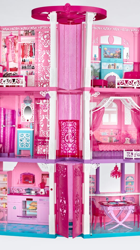An Image Of The 2017 Barbie Dreamhouse Photo11 Mattel