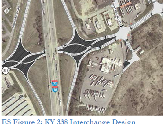 This art rendering shows what a new Richwood Road (Ky.
