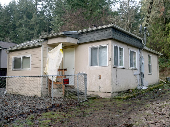 The site of a murder / suicide in West Bremerton on