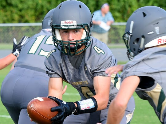 Quarterback Ty Hevener and Wilson Memorial open their season Aug. 31 at Waynesboro.
