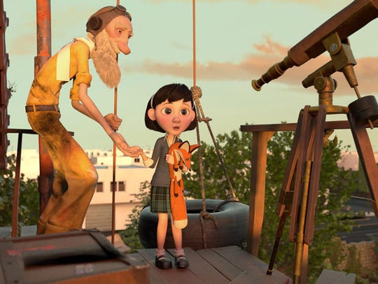 "A still from the new movie, ""The Little Prince,"" which"
