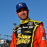 Clint Bowyer was knocked out of the Sprint Cup finale by an early crash.