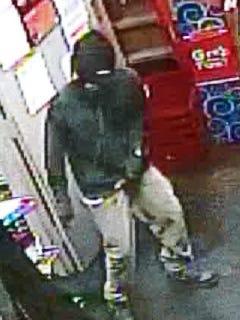 Gas station burglar
