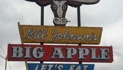 Bill Johnson's Big Apple shut its doors for good Sunday.