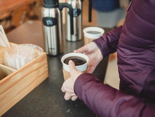 Coffee and Wyoming Community Coffee